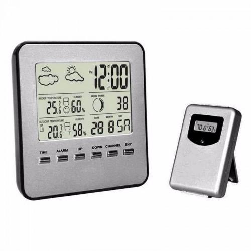 Ασύρματο θερμόμετρο υγρασιόμετρο εσωτερικού και εξωτερικού χώρου - TTH020Ασύρματο θερμόμετρο υγρασιόμετρο εσωτερικού και εξωτερικού χώρου acstore doraki