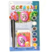 Ocean Art, stone making activity set