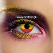 Spanish Flag Contact Lenses