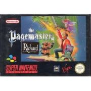 THE PAGEMASTER SNES SUPER NINTENDO UK PAL