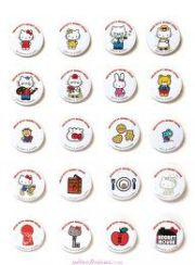 hello kitty pins