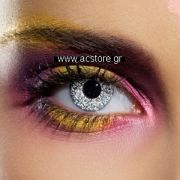 Colour Vision Glimmer Silver Contact Lenses