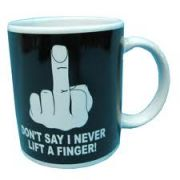 Don Never Lift A Finger Mug