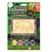 Jungle Embossed Paint Set